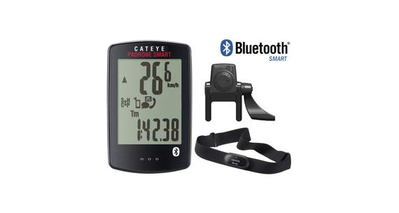 CatEye Padrone Smart CC-PA500B Fahrradcomputer inkl. TF HF schwarz